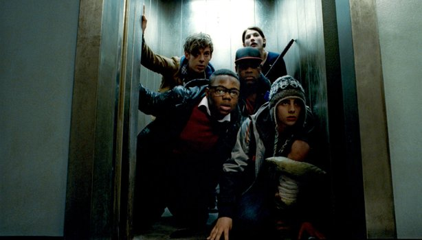 "Inner city versus outer space in ""Attack the Block."""