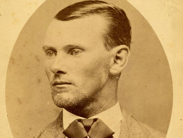 Historical photo of Jesse James.
