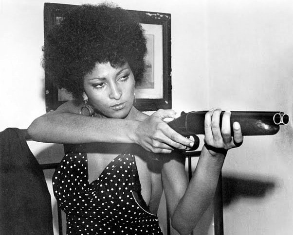 "Pam Grier may not be the most conventional choice for Black History movie icon but this lady kicked ass on the big screen, and went from eye candy to stunning actress. Here she is in ""Coffy"" but any of her films are worth checking out."