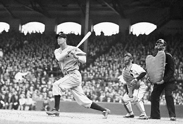 Hank Greenberg at bat