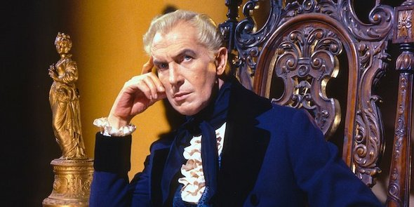 "Vincent Price in Roger Corman's production of ""The Fall of the House of Usher."""