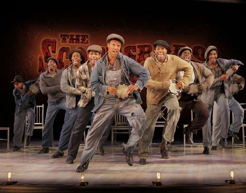 """The Scottsboro Boys"" gets its West Coast premiere at The Old Globe Theatre April 29th - June 10th."
