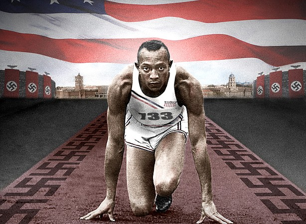 Trace the story of Jesse Owens' (pictured) remarkable victories in the face of Nazi racism during the 1936 Olympics.