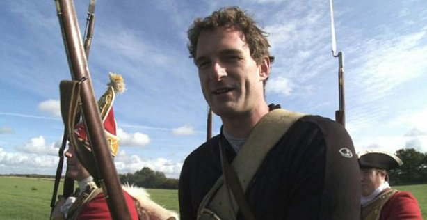 &quot;The Battle For North America&quot; host Dan Snow. 