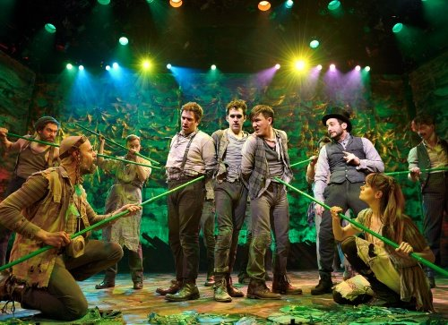 "The cast of ""Peter and the Starcatcher"" which won five Tony Awards at this year's ceremony. The play had its start at the La Jolla Playhouse in 2009."