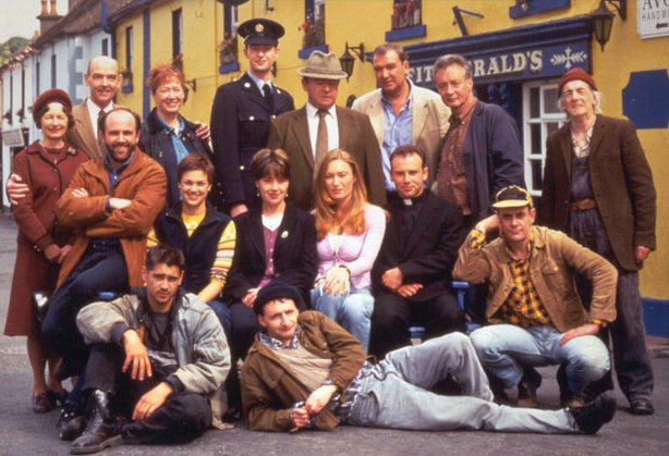 The cast of BALLYKISSANGEL. 