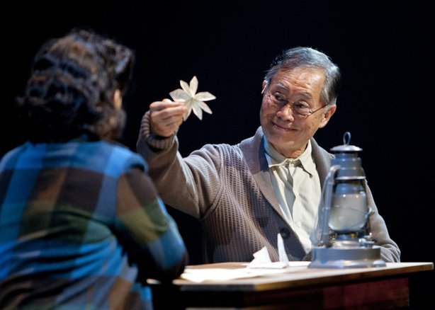 "George Takei stars in the new musical ""Allegiance"" at the Old Globe Theatre."