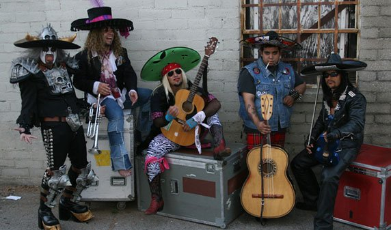 Cover band Metalachi brings it metal-mariachi madness to Oceanside on Friday, October 12.