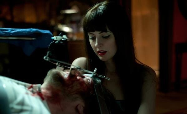 Katharine Isabelle as Mary in &quot;American Mary&quot; by the Soska twins.