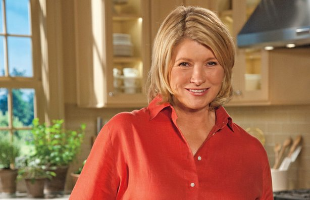Martha Stewart, Emmy Award-winning TV host, author and founder of Martha Stewart Living Omnimedia. Each week, Stewart conducts a culinary master class for American home cooks, demonstrating classic cooking techniques and basics.