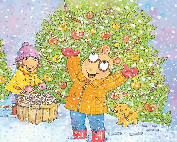 In &quot;Arthur&#39;s Perfect Christmas,&quot; D.W. and everyones favorite aardvark show children many ways to celebrate the holidays.