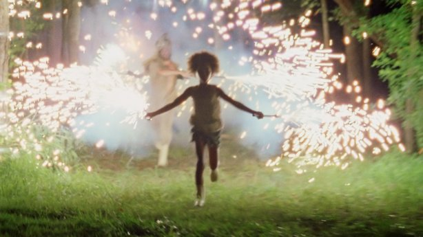 "Quvenzhané Wallis as Hushpuppy in ""Beasts of the Southern Wild."""