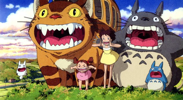 """My Neighbor Totoro"" screens as part of the Studio Ghibli Collection."