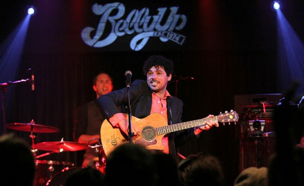 Bushwalla performs live at the Belly Up, November 14, 2012.