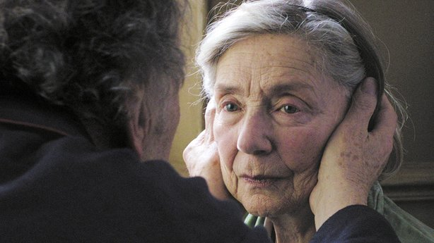 "Emmanuelle Riva received a best actress nomination and Michael Haneke received a surprise best director nomination for ""Amour."""
