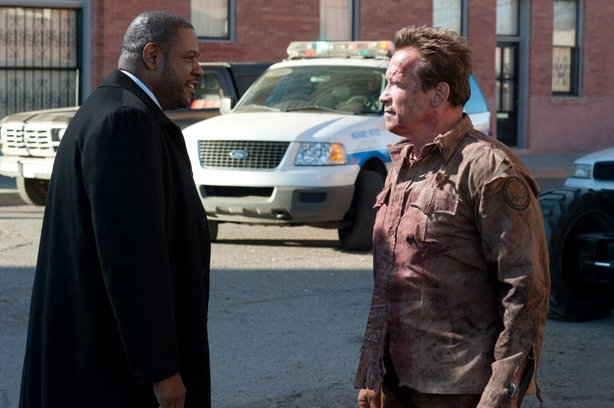 "Forest Whitaker is an FBI agent who underestimates the small town sheriff played by Arnold Schwarzenegger in ""The Last Stand."""