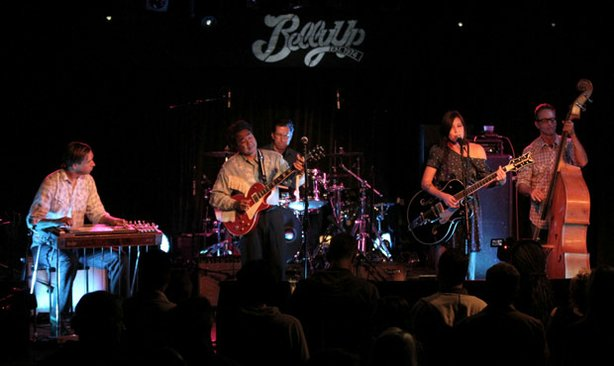 Brawley performs live at the Belly Up on November 14, 2012.