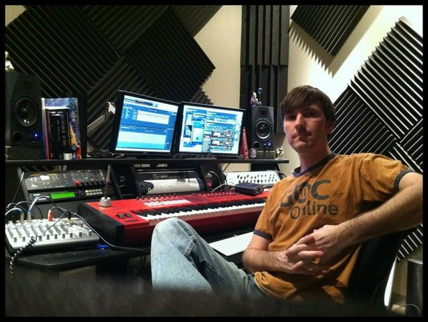 Audio artist Chad Mossholder, who graduated from SDSU and is one of the artists highlighted in Three Junctures of Remix.