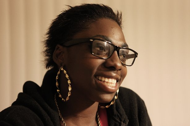"Kimberly Bell, 19,  wrote her play ""A Broken Promise"" in juvenile hall. It was one of the winning scripts in the California Young Playwrights Contest."