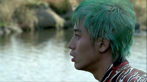 Ha-Kyun Shin in Park Chan-wook&#39;s &quot;Sympathy for Mr. Vengeance,&quot; the first film in his Revenge Trilogy.