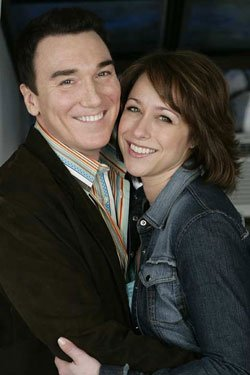 Patrick Page and Paige Davis