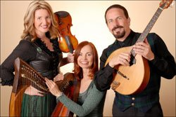 The musicians of Golden Bough: Kathy Sierra, Margie Butler and Paul Espinoza    
