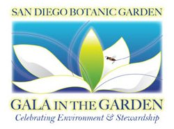 Graphic logo for the 2010 Gala in the Garden.