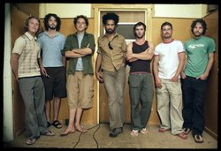 Image of the New Zealand reggae band, The Black Seeds.