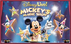 Promotional image for the Disney Live! Mickey's Magic Show.