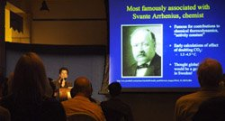 "Image from a ""Perspectives on Ocean Science"" lecture at the Birch Aquarium at Scripps."