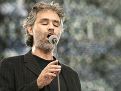 Promotional photo of Andrea Bocelli.