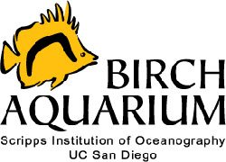 Logo for the Birch Aquarium in La Jolla.