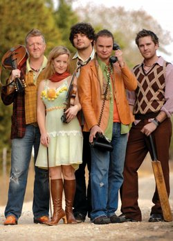 Image of the Gaelic Storm band.