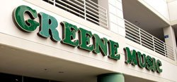 Exterior image of Greene Music. 