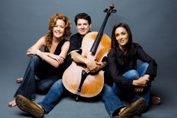 Promotional photo of Lincoln Trio.