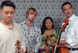 Promotional photo of Mir Quartet.