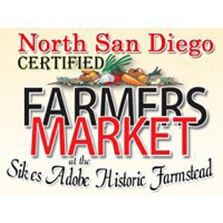Graphical logo of North San Diego Certified Farmers Market.