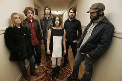 Promotional image of the band The Black Angels.