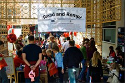 A photo from last year&#39;s Read And Romp. This year&#39;s takes place on May 14th, 2011 at 9 a.m.