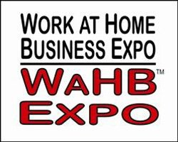 WaHB Expo: Work at Home Business Expo logo.