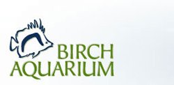 Graphic Logo for Birch Aquarium at Scripps.