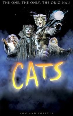 "Promotional graphic for ""CATS."""