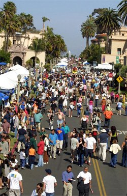 Image of Balboa Park&#39;s EarthFair.
