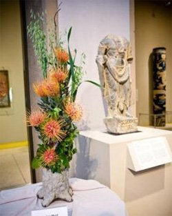 Promotional photo for Art Alive 2011: Bouquet Bash at the San Diego Museum of Art, April 29th, 2011.