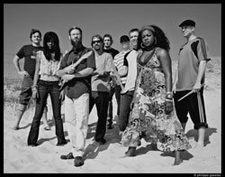 Image of the reggae band Groundation.