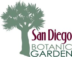 Graphic logo for the San Diego Botanic Garden.