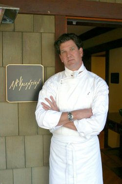 Image of Chef Jeff Jackson who will be preparing the Thanksgiving Dinner A.R. Valentien on November 22nd, 2012. Courtesy to A.R. Valentien. 