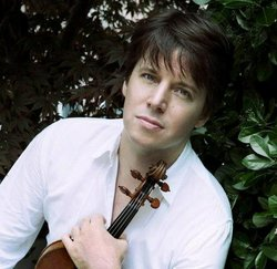Image of Joshua Bell, who will be performing at the Copley Symphony Hall on May 24th - 26th, 2013. 