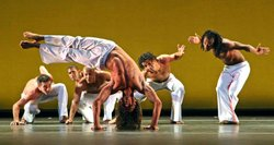 Image of Dance Brazil, who will be performing at the Copley Symphony Hall on March 10th, 2013.