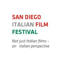 Promotional graphic for the San Diego Italian Film Festival taking place from October 26th through November 11th, 2012. Courtesy of SDIFF.